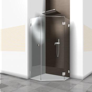 duschabtrennungen aus glas von glasbau kl ters. Black Bedroom Furniture Sets. Home Design Ideas